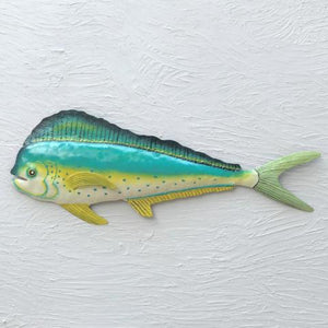 Metal Mahi Mahi Wall Art by Caribbean Rays