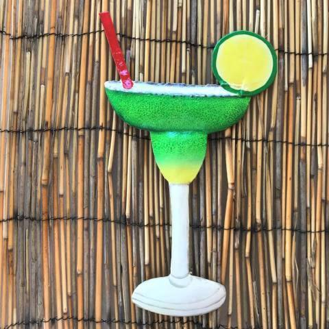 Metal Margarita Tiki Bar Accent by Caribbean Rays
