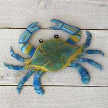 Metal Maryland Blue Crab Wall Decor