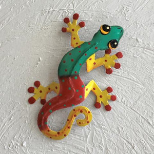 Paradise Pete Island Gecko Metal Wall Art by Caribbean Rays