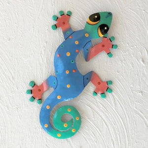 Sergio Metal Gecko Wall Decor by Caribbean Rays