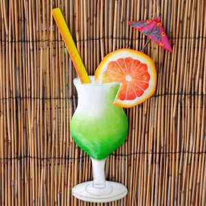13in-Metal-Orange-Daiquiri-Tropical-Drink-Wall-Decor