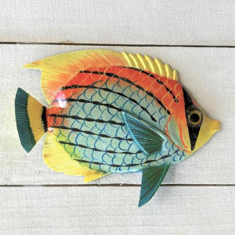 Dusky Resin Tropical Fish Wall Decor by Caribbean Rays
