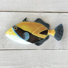 Humuhumu Resin Tropical Fish Wall Decor by Caribbean Rays