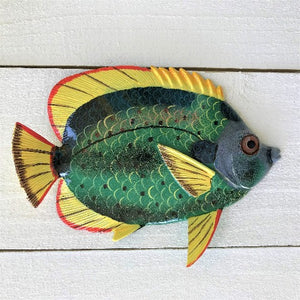 Opal Eye Tropical Fish Resin Wall Decor by Caribbean Rays