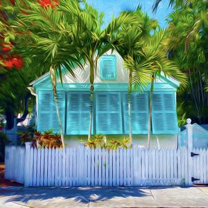 Shutters Canvas Giclee Print Wall Art by Caribbean Rays