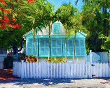 20x16 Shutters Canvas Giclee Print Wall Art by Caribbean Rays