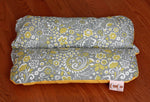 Mini Bunbed for Dachshunds, Yellow Gold Floral Small Cat Bunny Rabbit Guinea Pig Pet Dog Bed Cotton Canvas