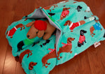 Holiday Dachshund Bunbed Dog bed