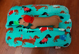 Holiday Bunbed with Dachshund Plush