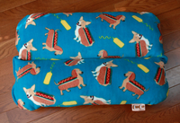 dachshund corgi hot dog bed