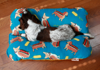 dachshund hot dog bun bed
