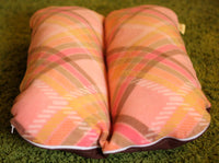 Pink Plaid - Bunbed, Dachshund Dog Bed, Small Dog Bed, Fleece Dog Bed, Burrow Bed, Dachshund Bed