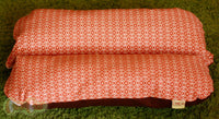 Orange Onions Mod Dog Bed, BUNBED, Dachshund Dog Bed, Small Dog Bed, Hot Dog Bed, Dachshund Bed, Burrow Bed