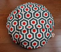 Round Dog Bed with Pocket
