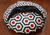 Pocket Interior on Round Pocket Dog Bed