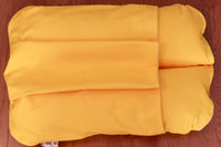 Top View of Yellow Pocket Bunbed Dog Bed
