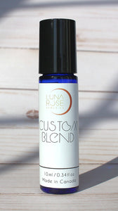 Custom Made Essential Oil Roll-on - Luna Rose Remedies