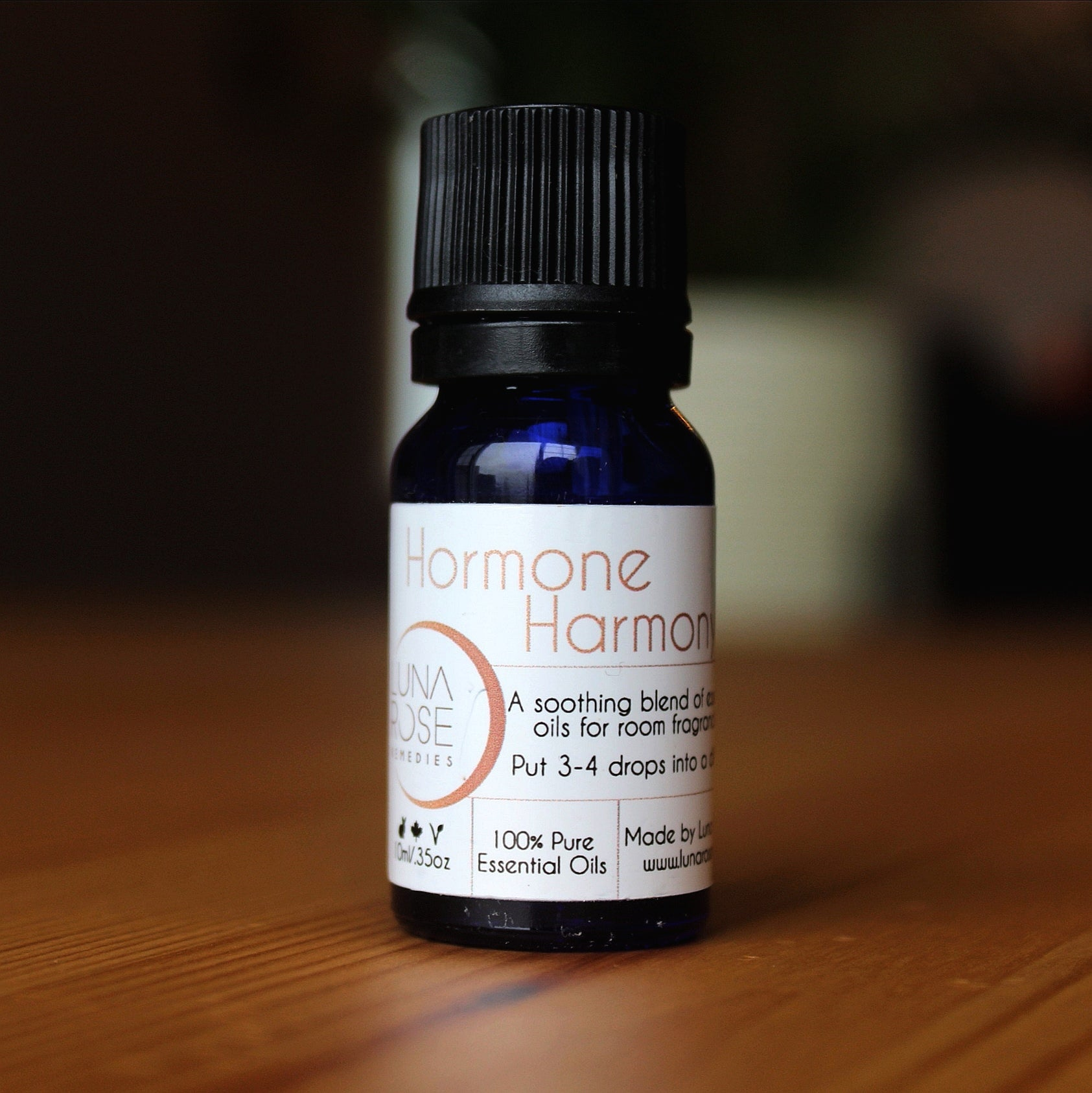 Hormone Harmony Essential Oil Diffuser Blend - Luna Rose Remedies