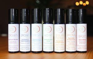 Chakra Aromatherapy Roll On - Set of Seven - Luna Rose Remedies
