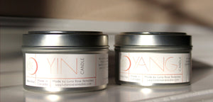 YIN & YANG Essential Oil Candles - Set of Two - Luna Rose Remedies