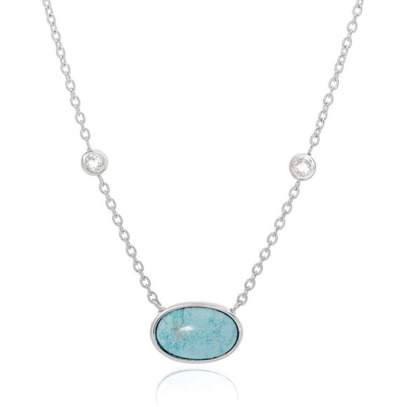 Australian Gemstone Necklace 45cm set in Sterling Silver - Ruby Jade Jewellery