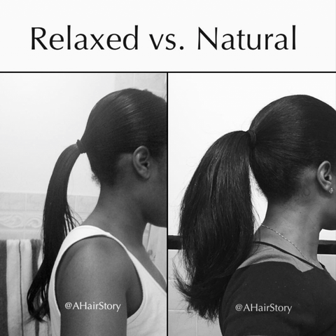 Hair Growth: Relaxed vs Natural