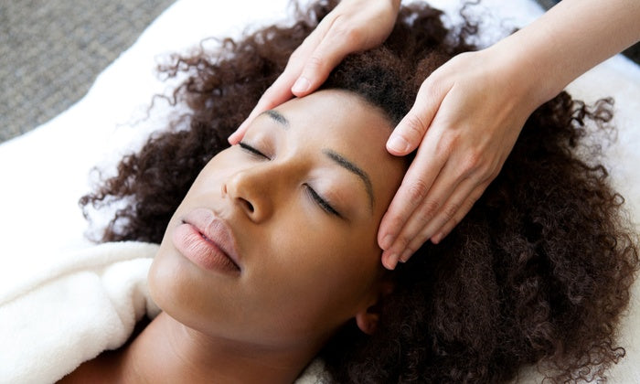 Promote And Stimulate Hair Growth Using Scalp Massages