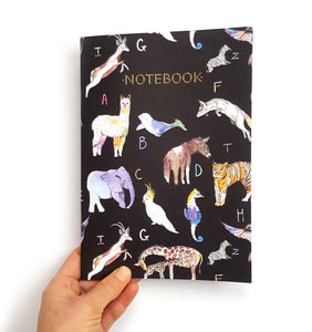 Animal Alphabet Notebook