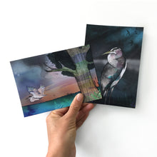 Majestic Heron Postcard Set