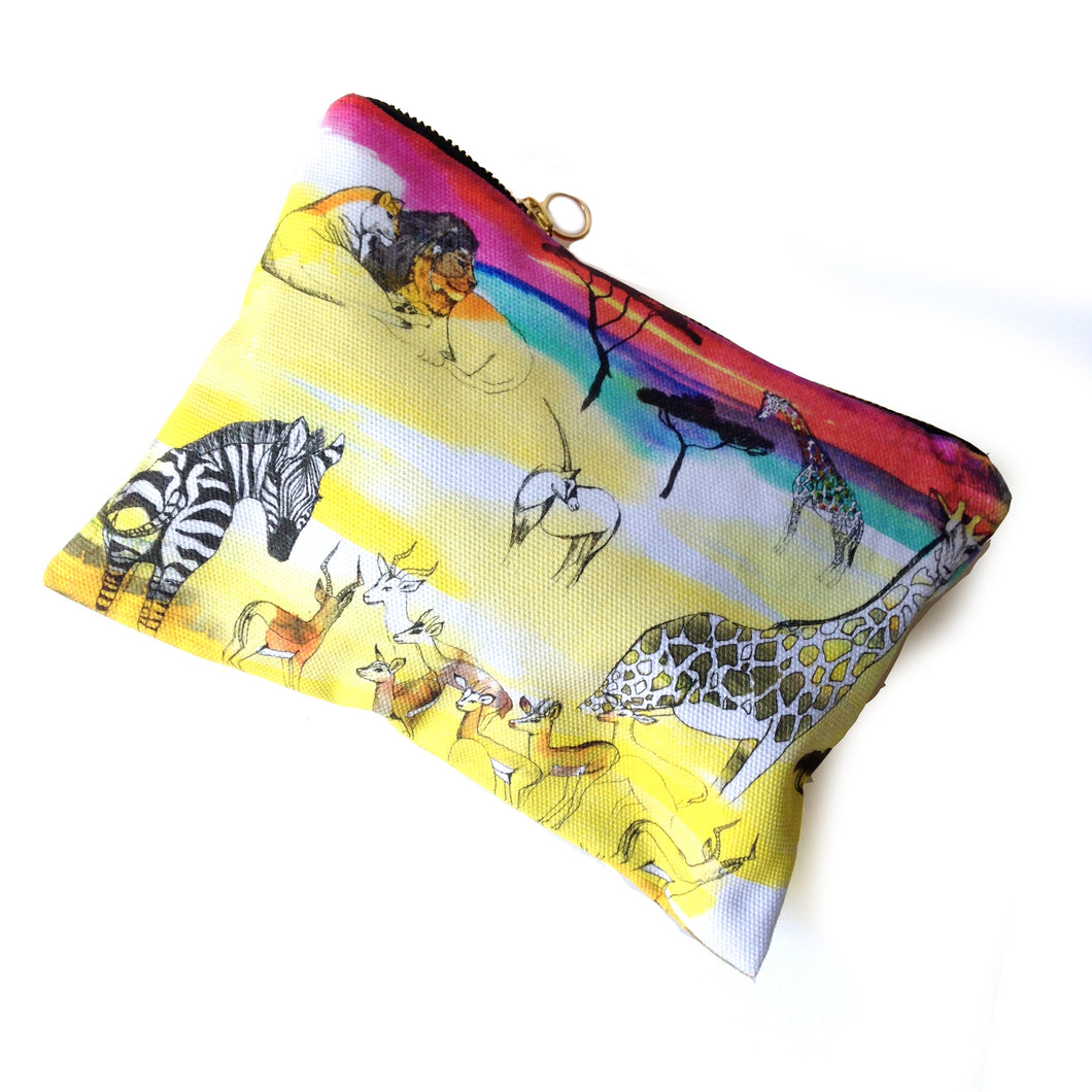 Africa Cotton Pouch