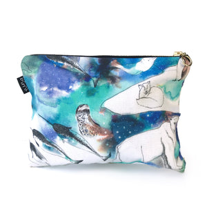 Antarctic  Cotton Pouch