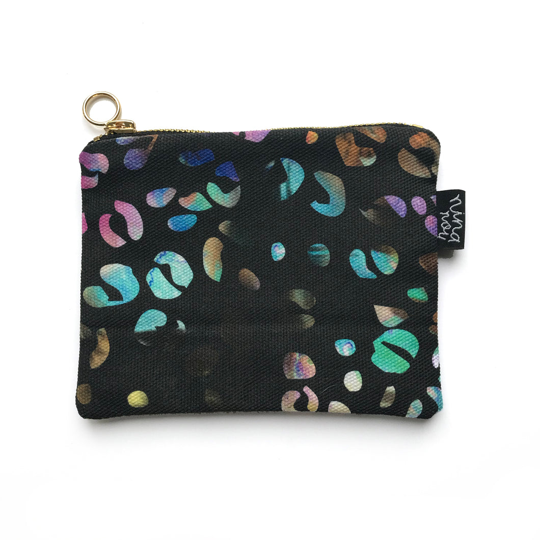 Rainbow Leopard Coin Purse