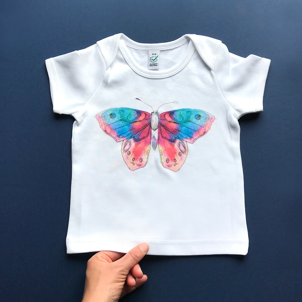 Beautiful Butterfly Baby T-Shirt