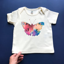 Rainbow Butterfly Baby T-Shirt