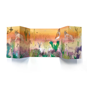 California Desert Panorama Card