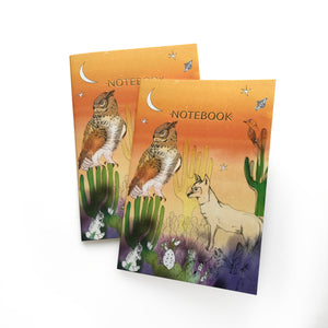 Californian Desert A5 Notebook