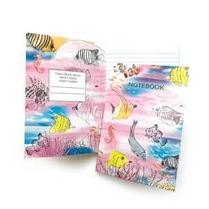 Coral Reef A5 Notebook