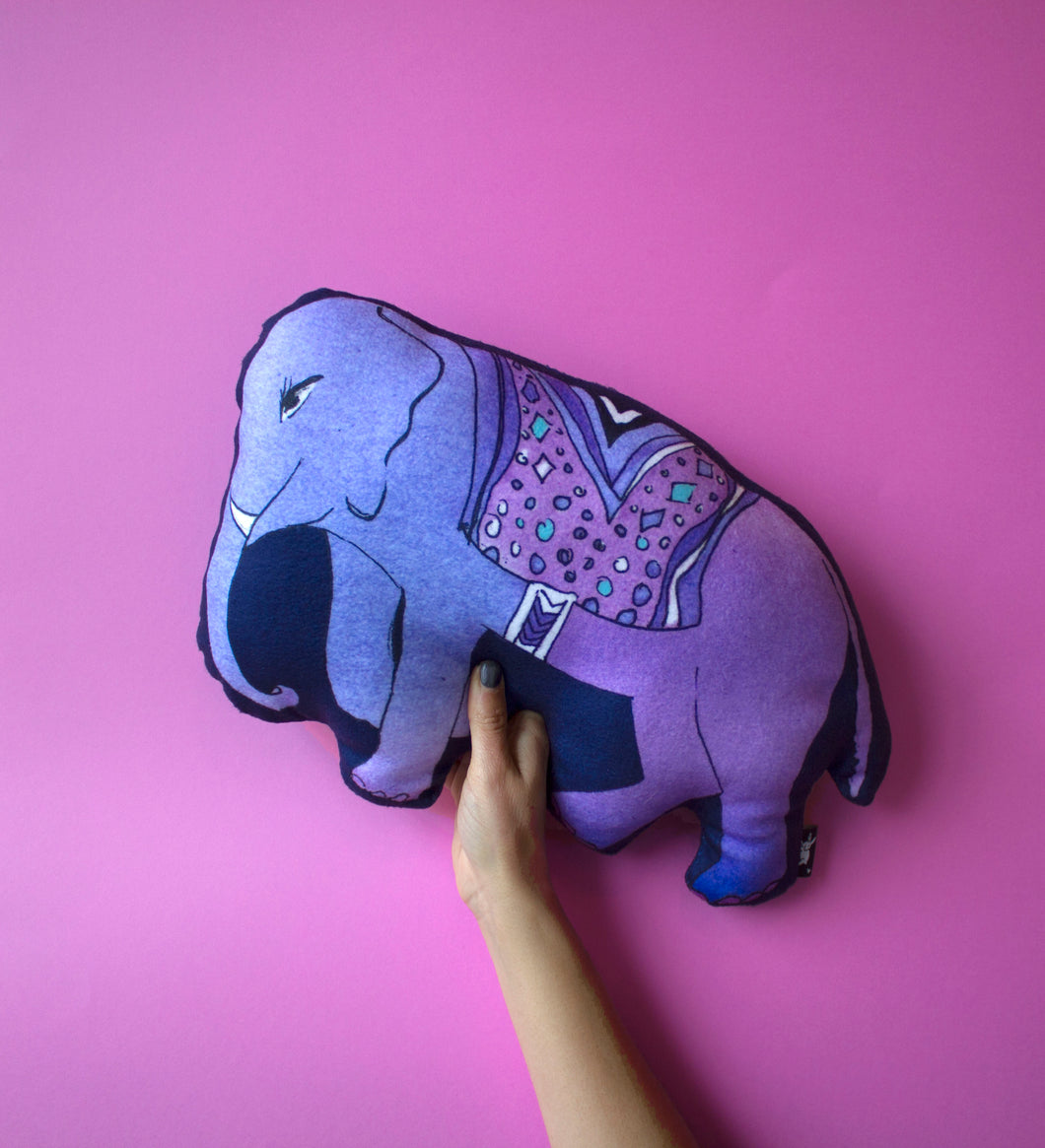 Soft Elephant Cushion