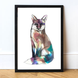 Spirit Fox Art Print