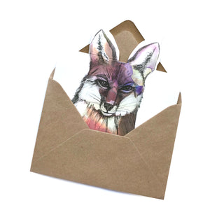 Fox Pop Up Cards
