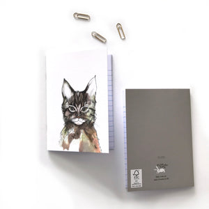 Cat Pocket Sized Notebooks