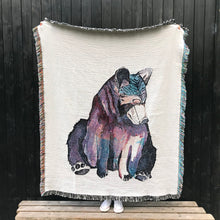 100% Cotton Woven Blanket 'Spirit Bear' Large
