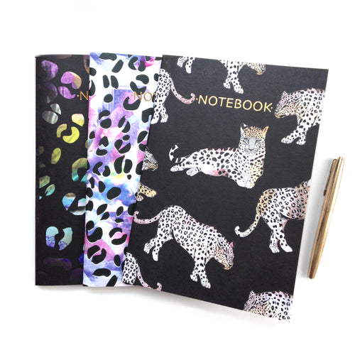 Leopard Lovers Notebooks