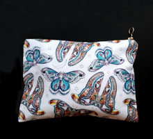 Moon Moth Cotton Pouch