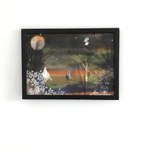 Autumn Moon A4 Foiled Art Print