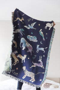 100%  Cotton Woven Blanket 'Persia' Medium