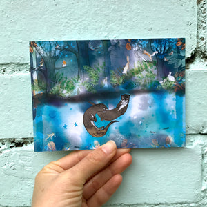 Magical Woodland Postcards Set of Four