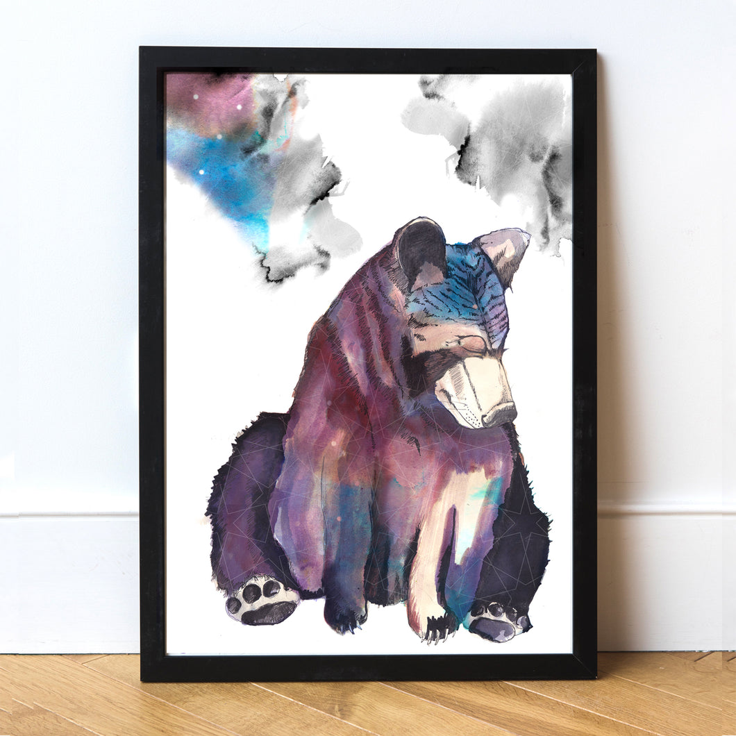 Spirit Bear Art Print