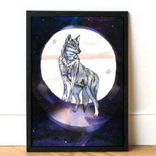 A5 Moon Animal Prints